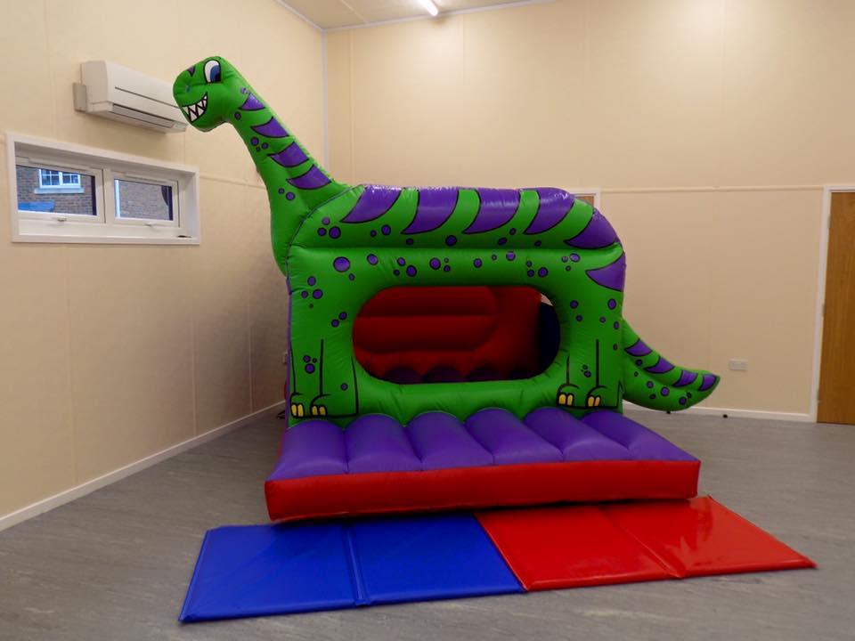Dino Shape Bouncy Castle