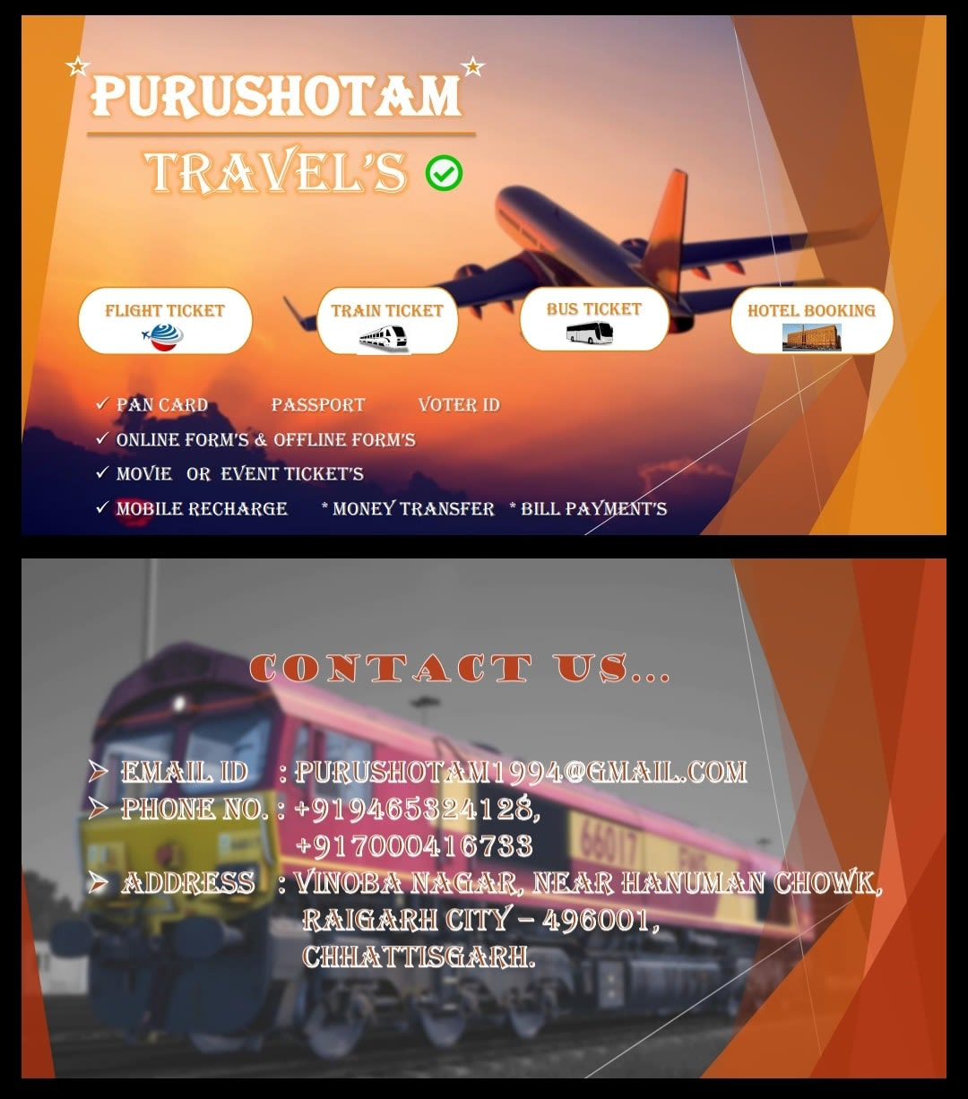 Purushotam Travels and Online Services