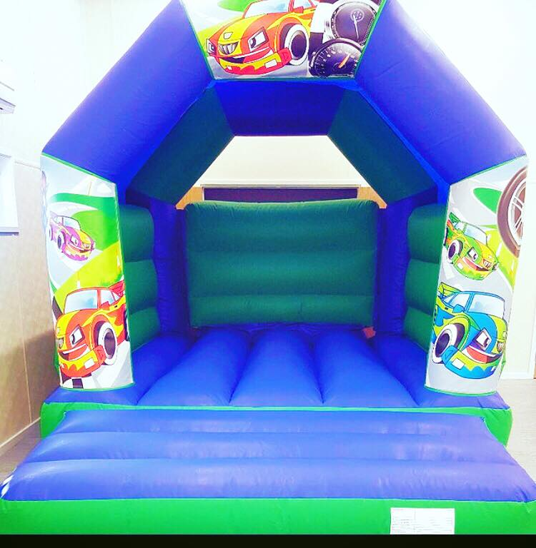 Cars Themed Bouncy Castle