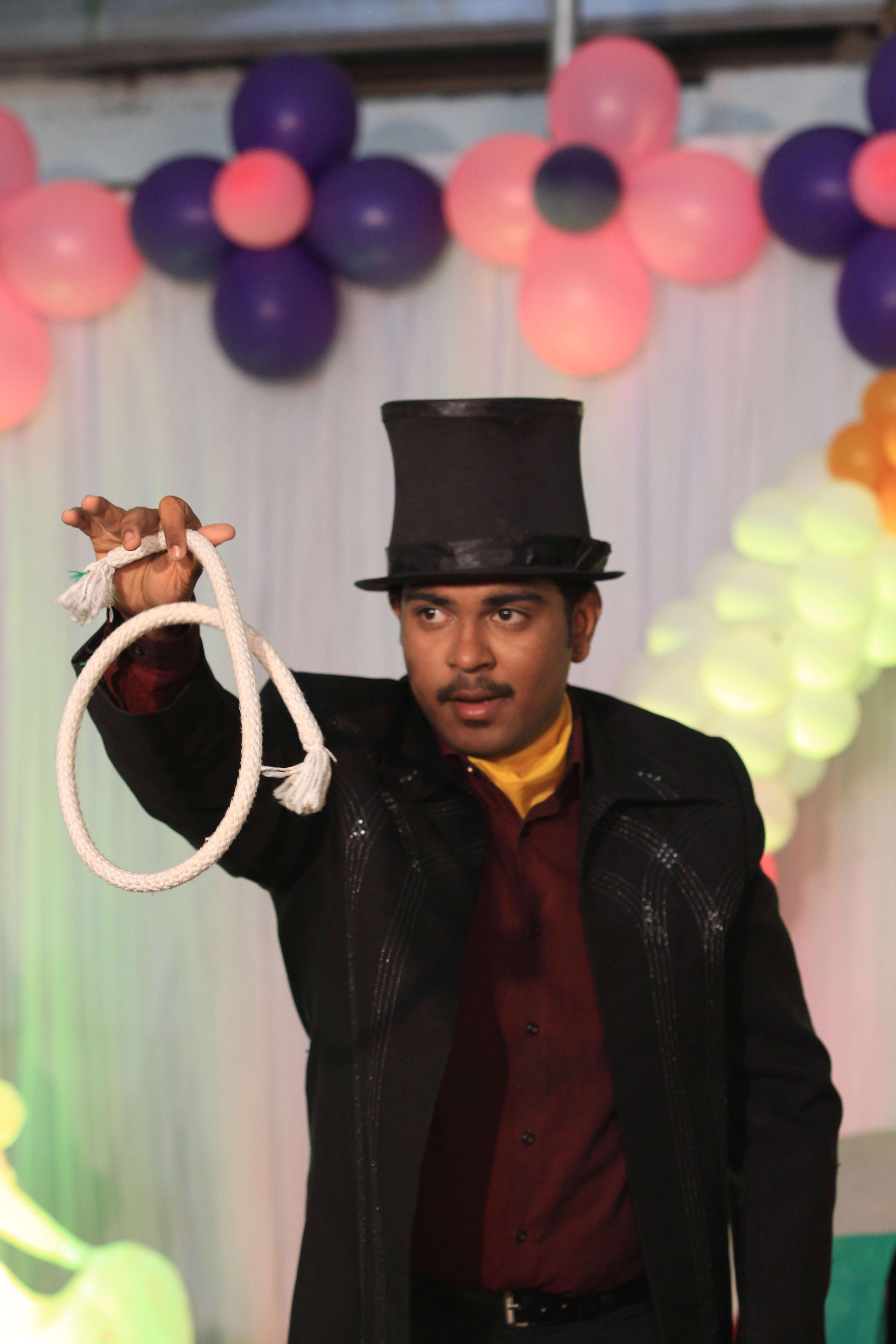 Magician Pramodh Marrela