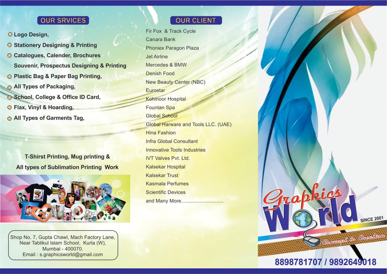 Graphic Designer | Graphics World