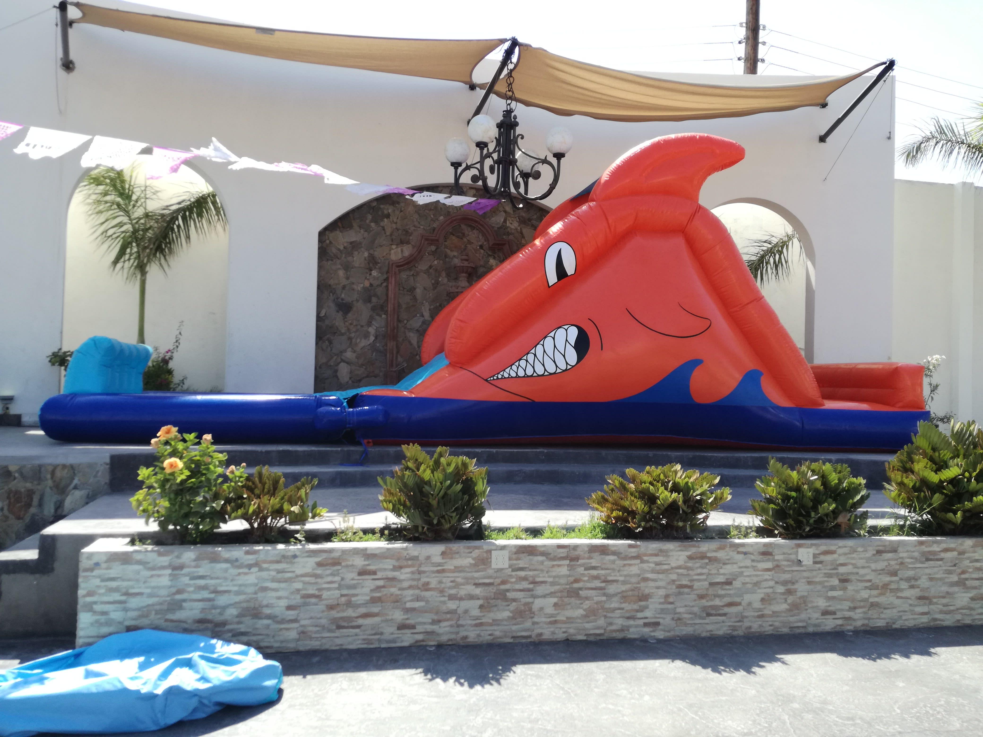 Brincolin Acuático Tiburón