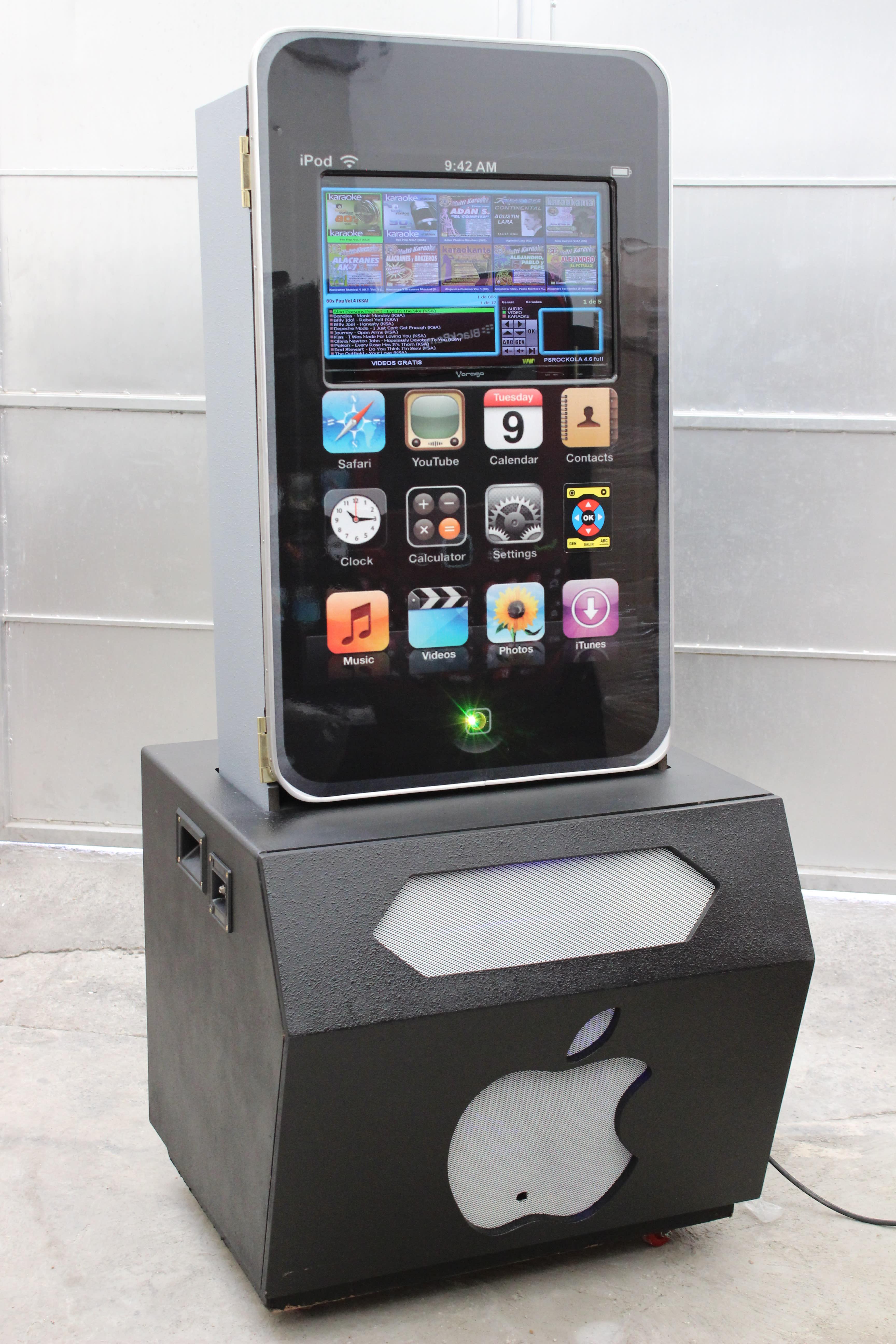 Renta de Rockolas Karaoke mod iPod sencilla