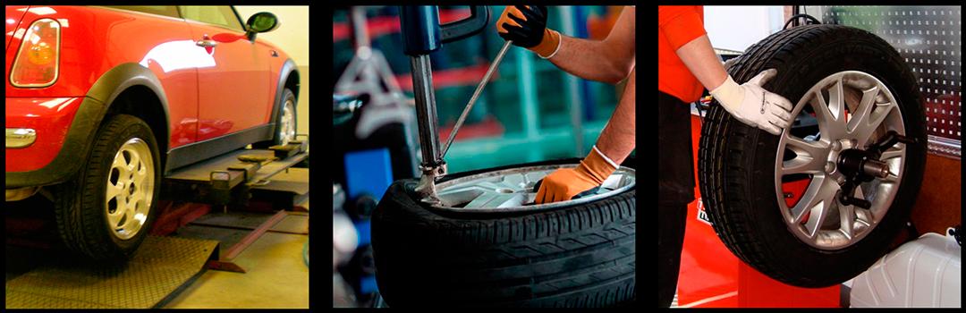 Montaje & equilibrado de neumáticos