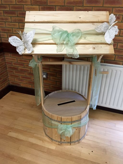 wedding wishing well 5ft