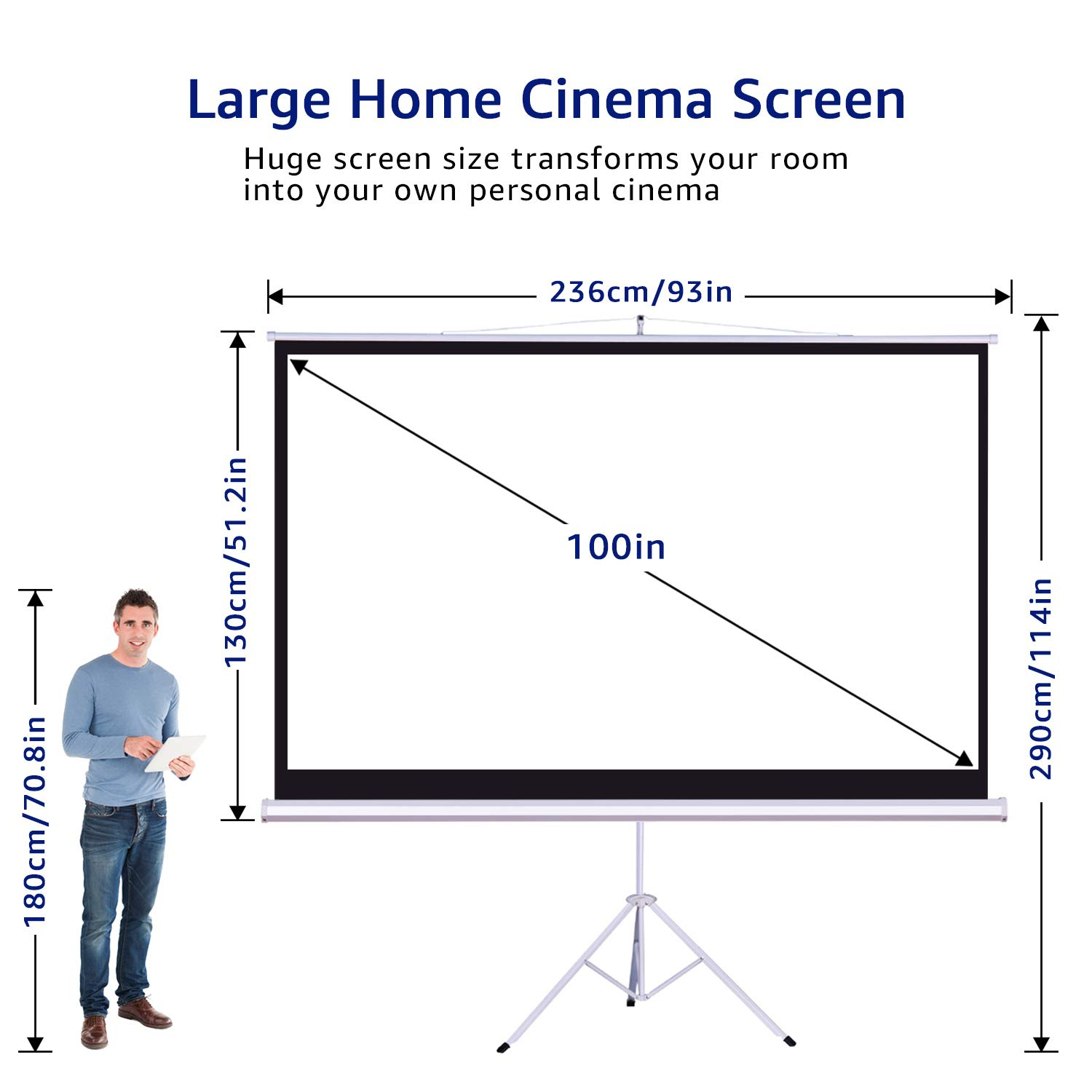 Projector & 100'''screen hire