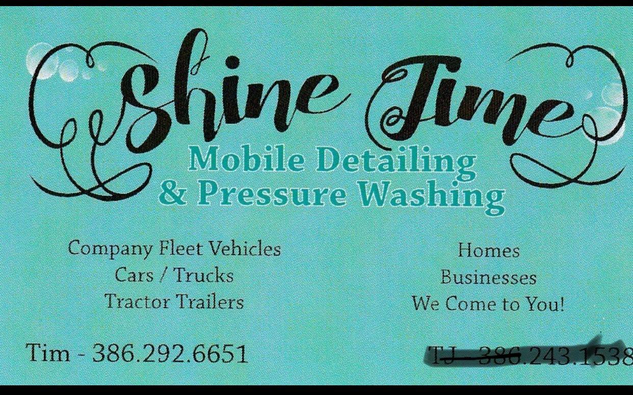 Shine Time Mobile Detailing & Pressure Washing