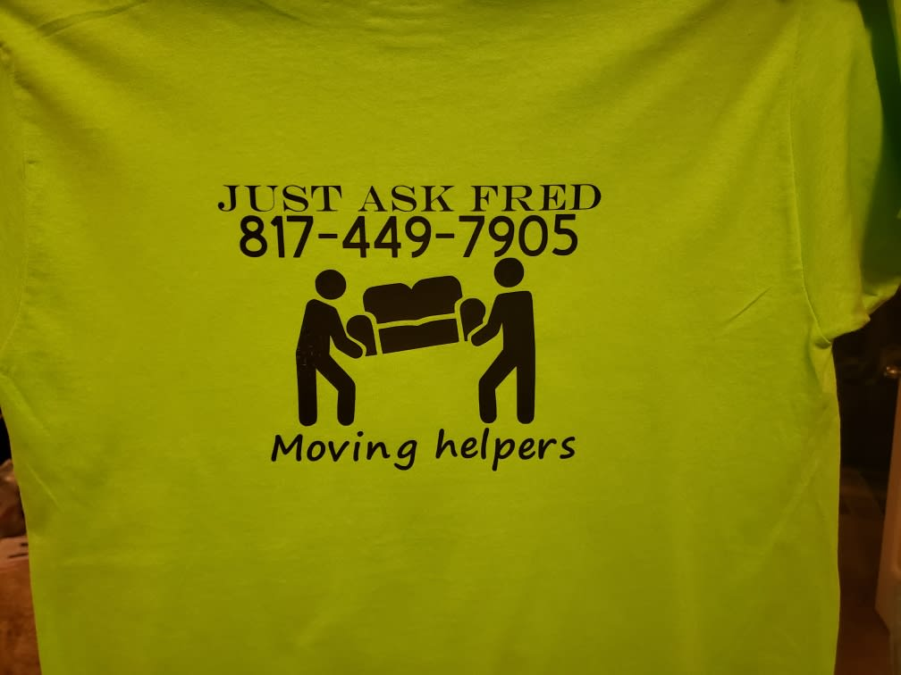 Just Ask Fred Moving Helpers