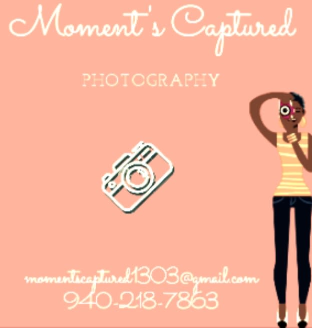 Moment's Captured Photography & Custom Graphic Designs
