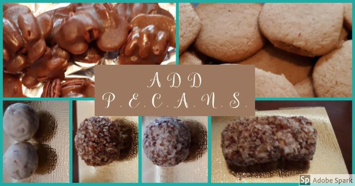 Addpecans  taste & see