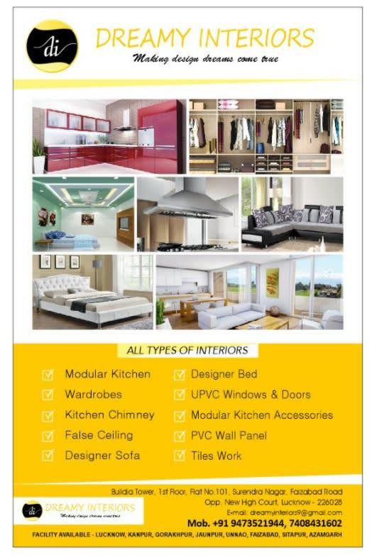 Dreamy Interiors Interior Designer Lucknow