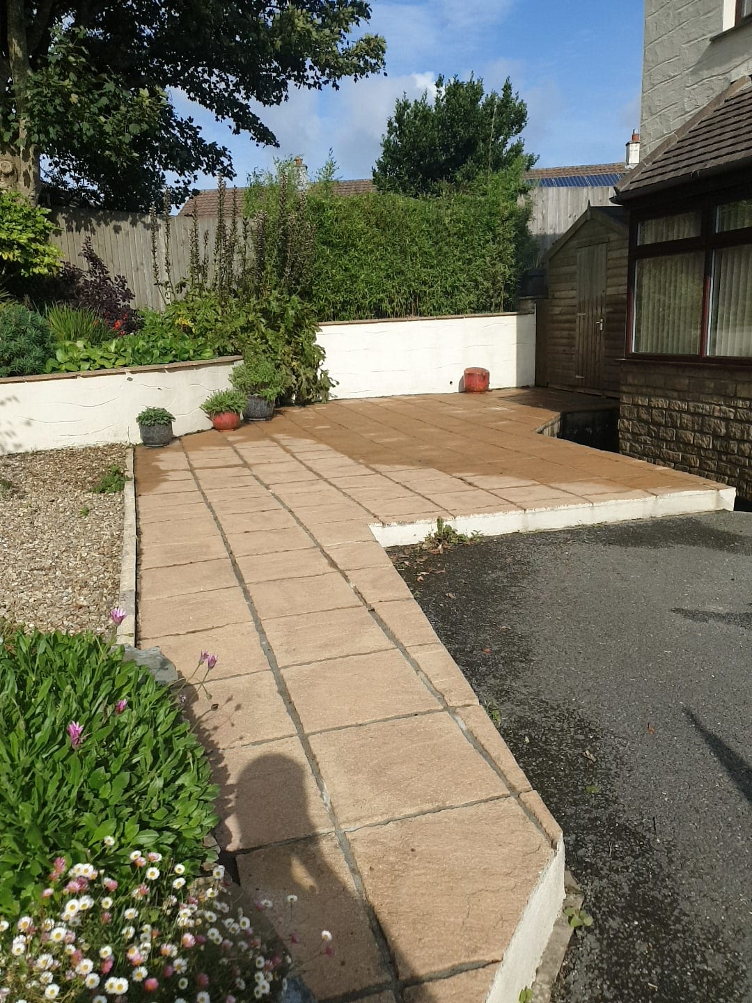 Patio & Driveways Cleaning