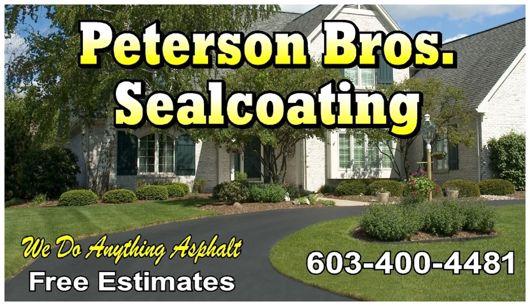 Peterson Bros Sealcoating