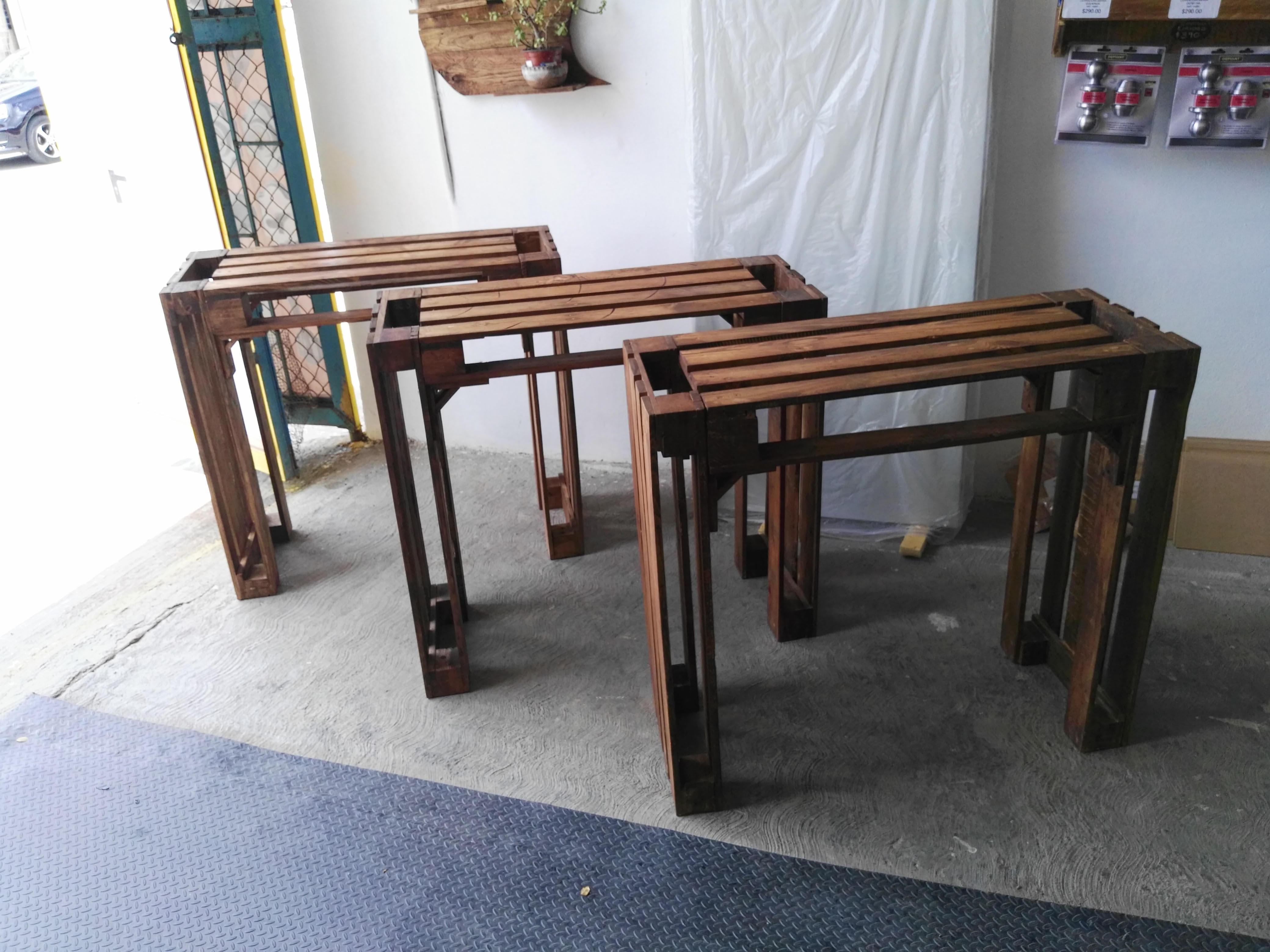 Fabricación de muebles a medida de Palet