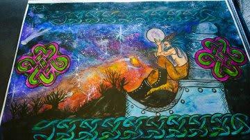 Acrylic / Watercolors Painting