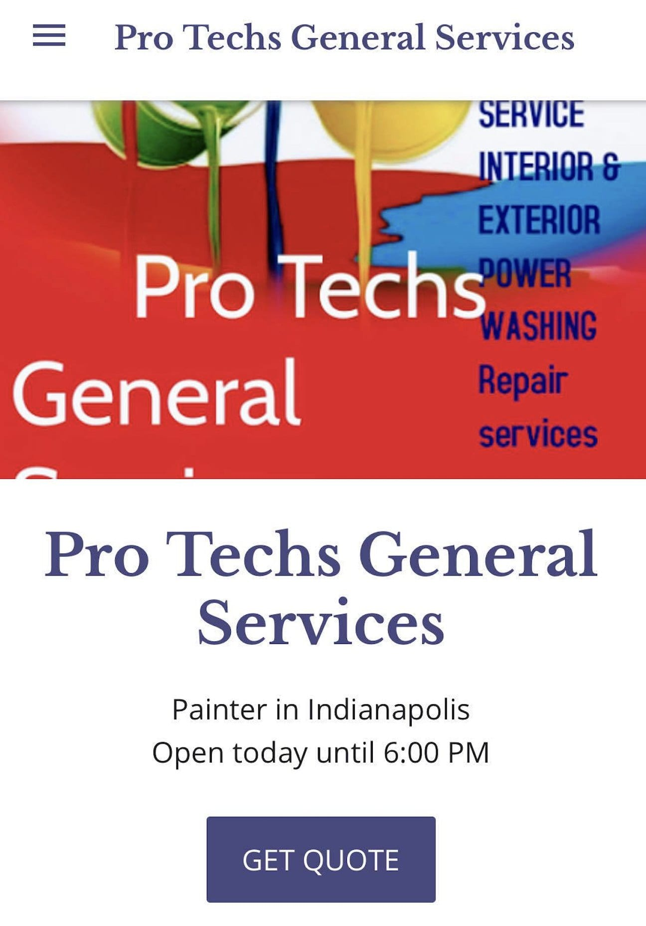 Pro Techs General Services