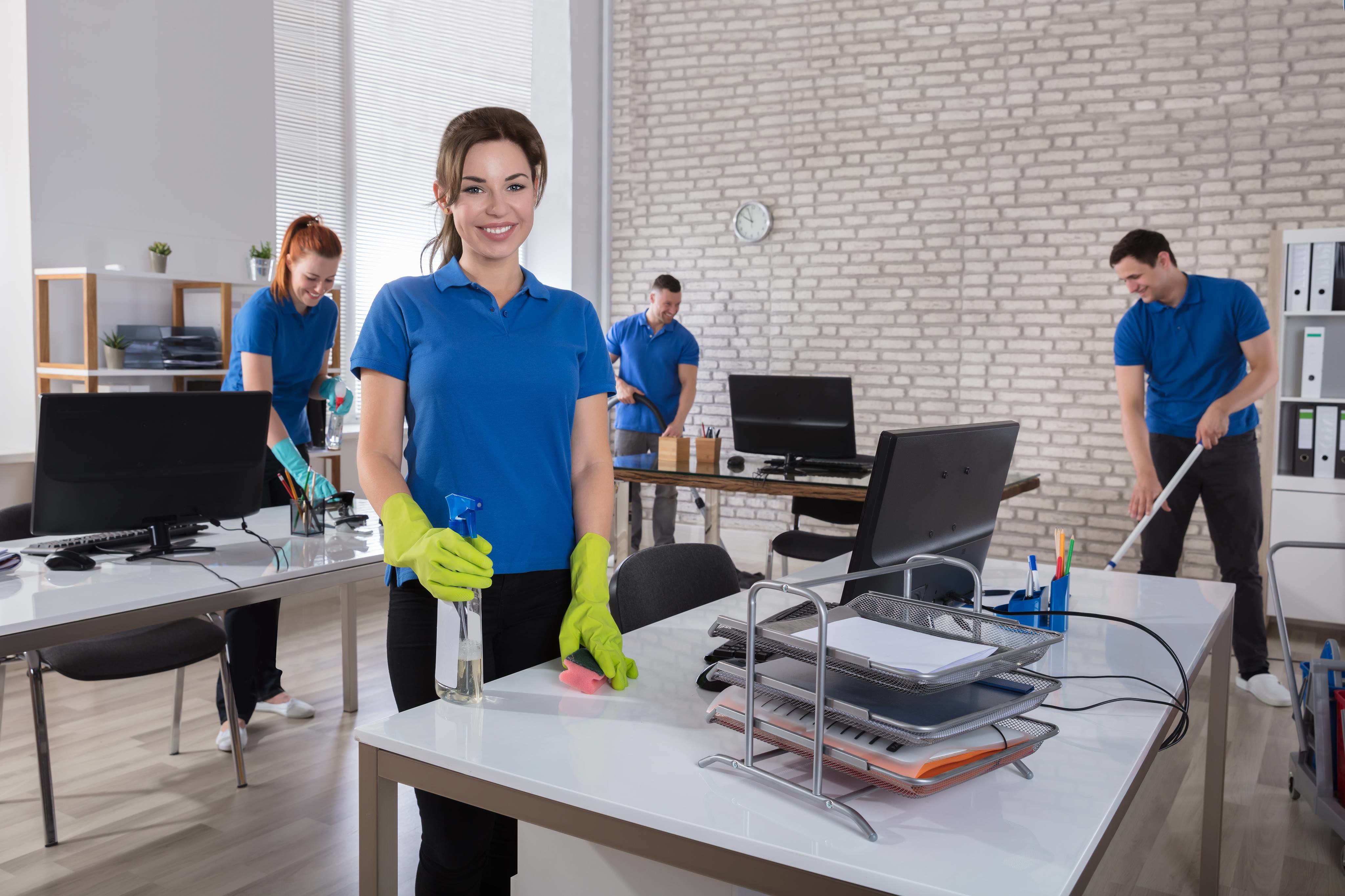 Regular Office Cleaning Service