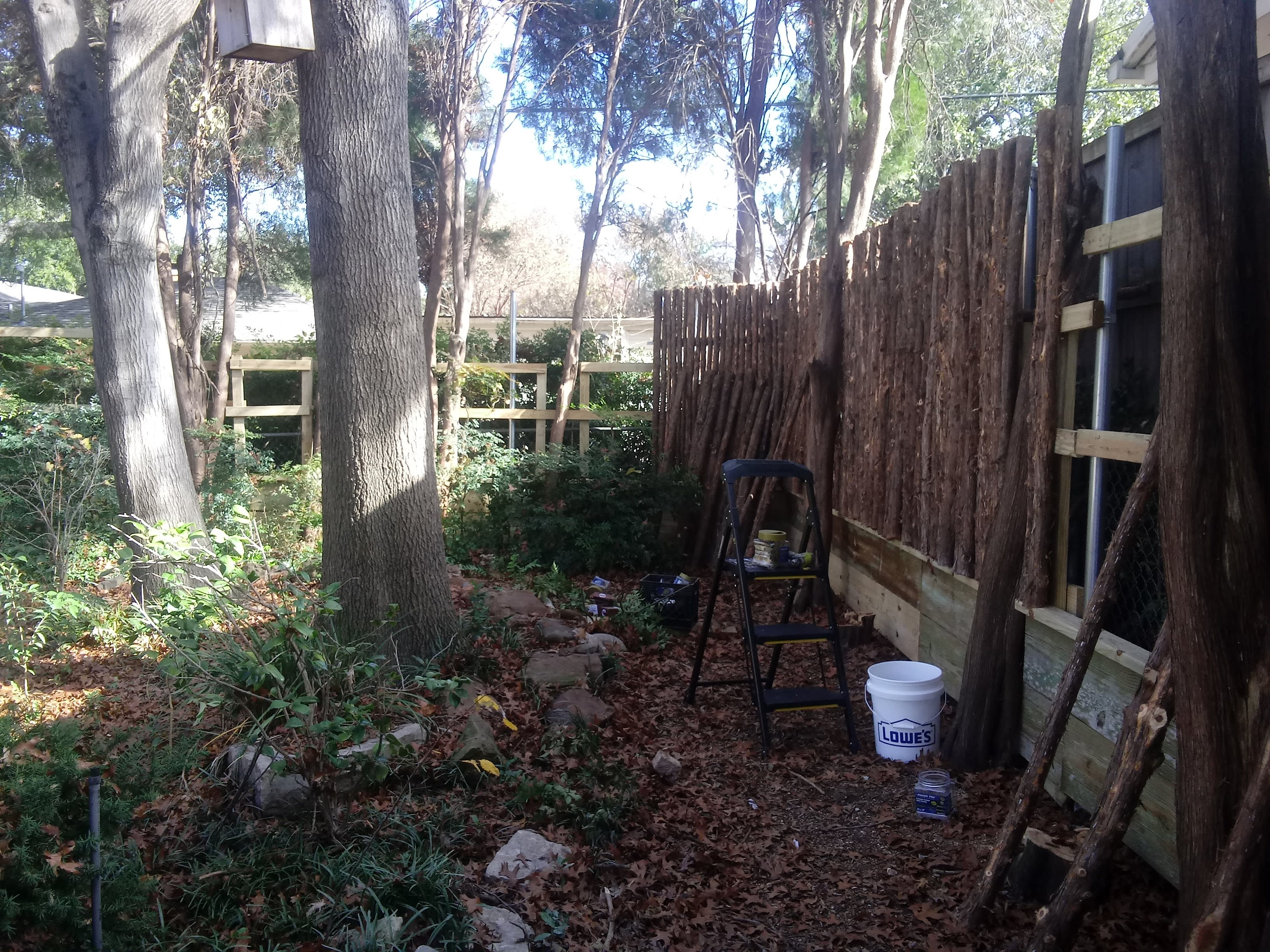 Fence construction and repair