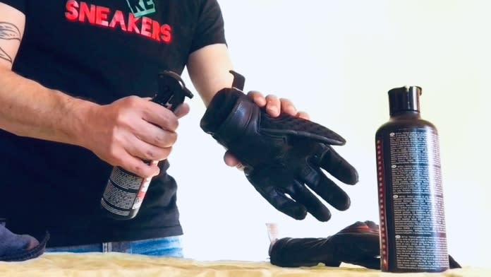 Limpieza y desinfección guantes (de moto o deportivos)