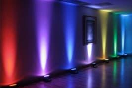 LED up-lighting