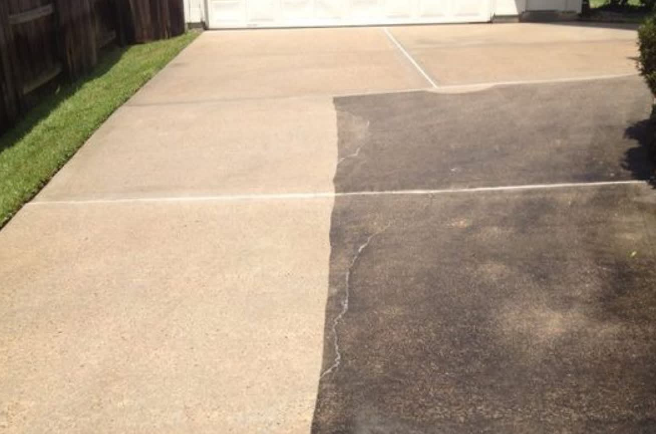 Driveways Cleaned