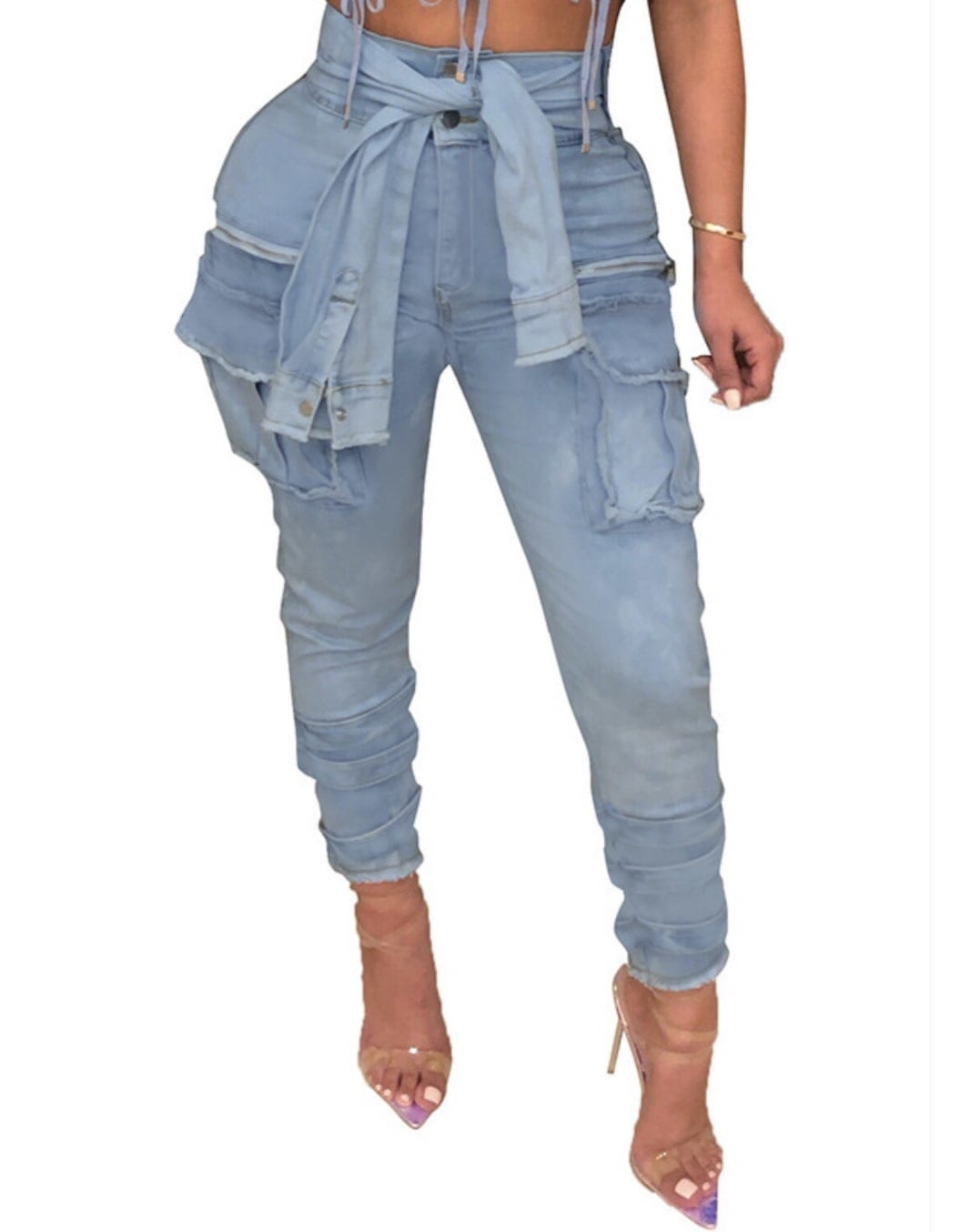 MoSleeves Cargo Jeans
