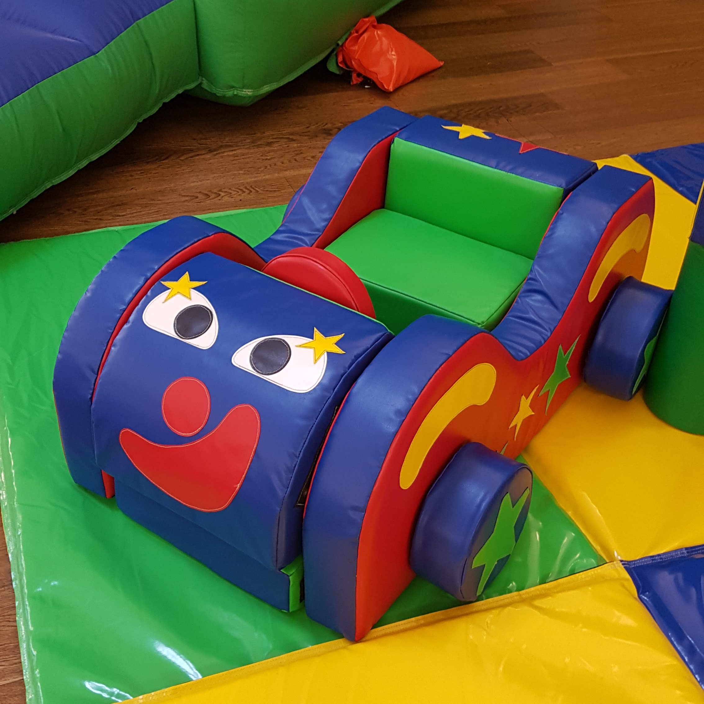 DIY Soft Play Car