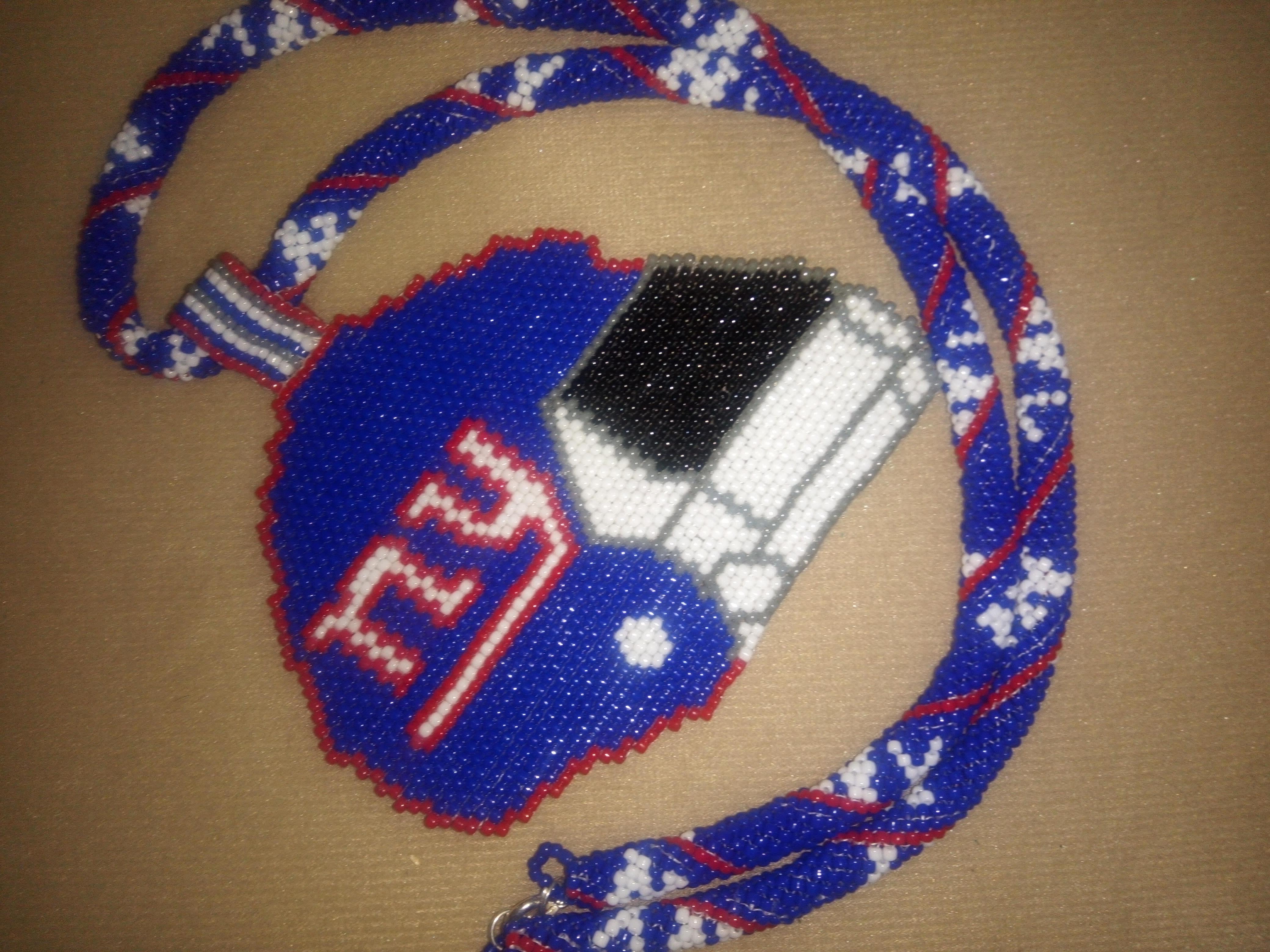 NY Helmet Necklace