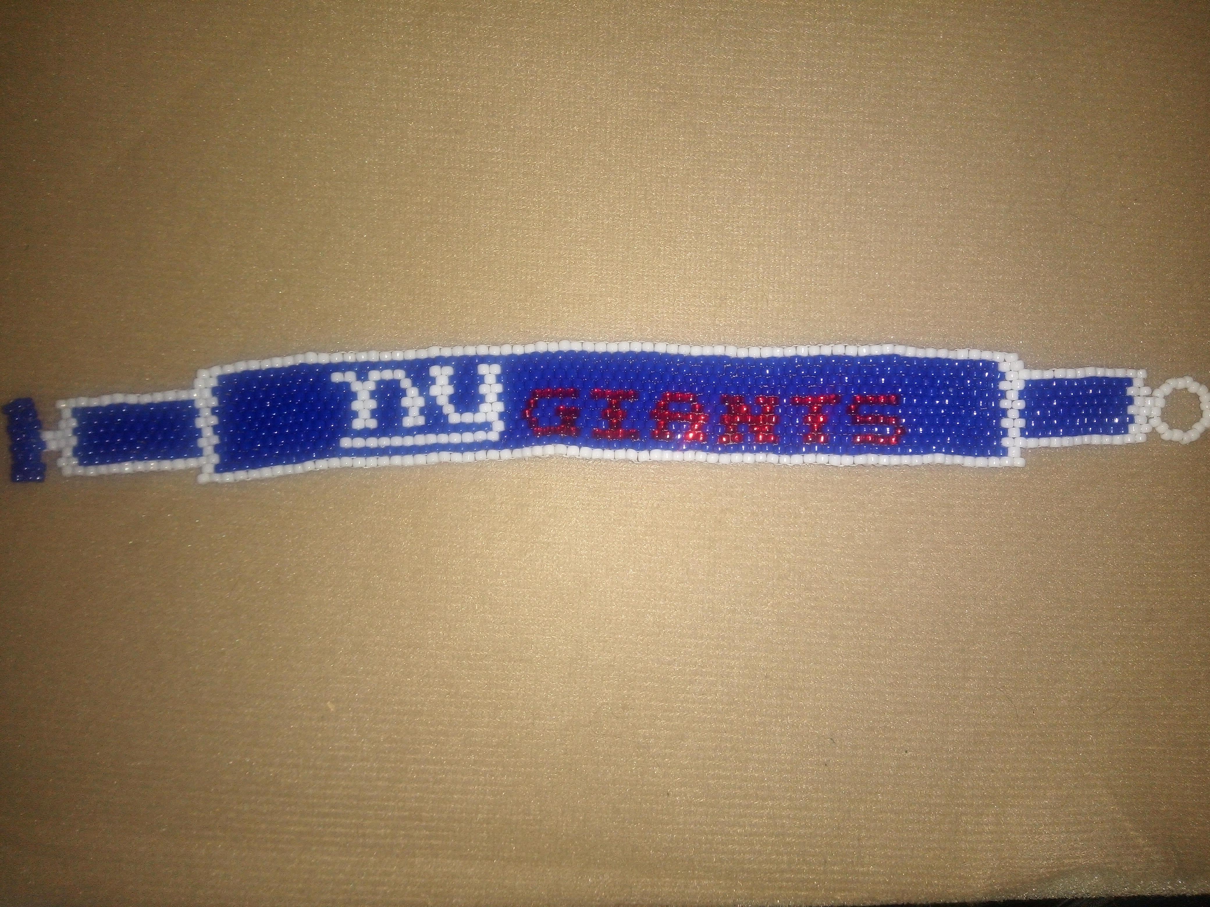 NY Giants Bracelet