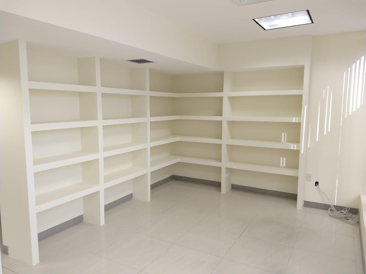Libreros y closets de tablaroca