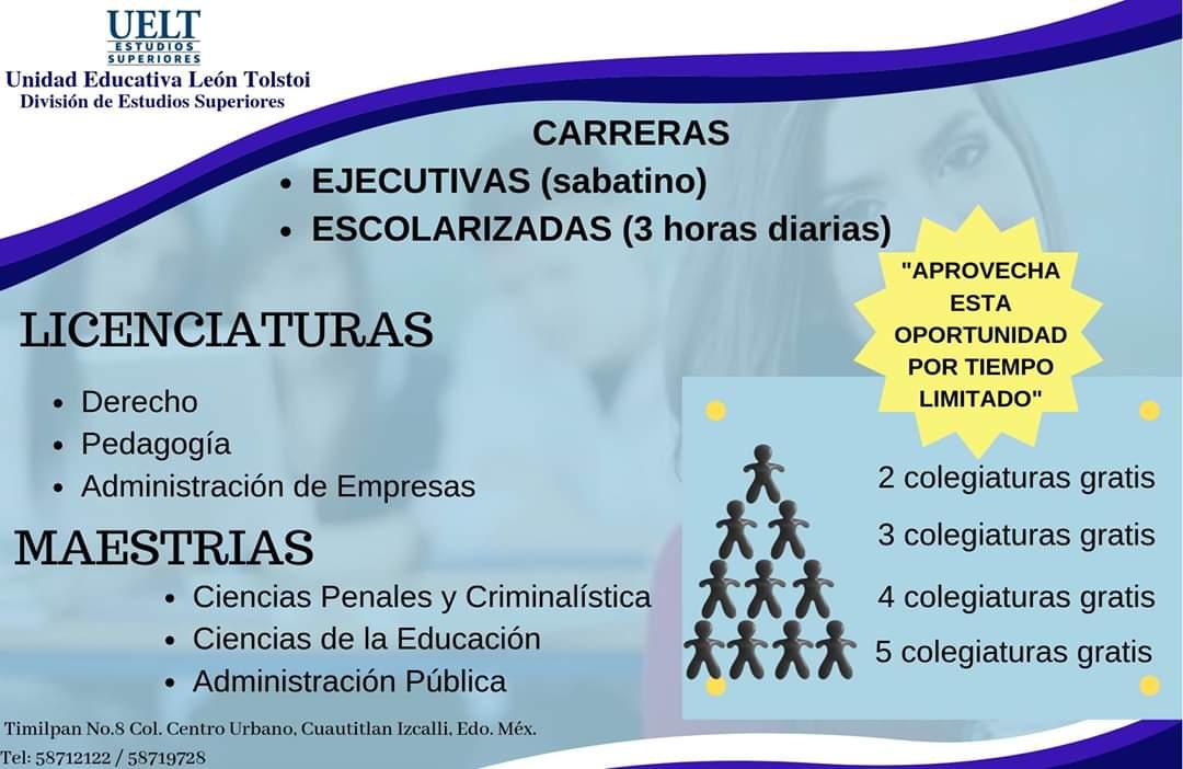 Uelt Estudios Superiores Cuautitlán Izcalli