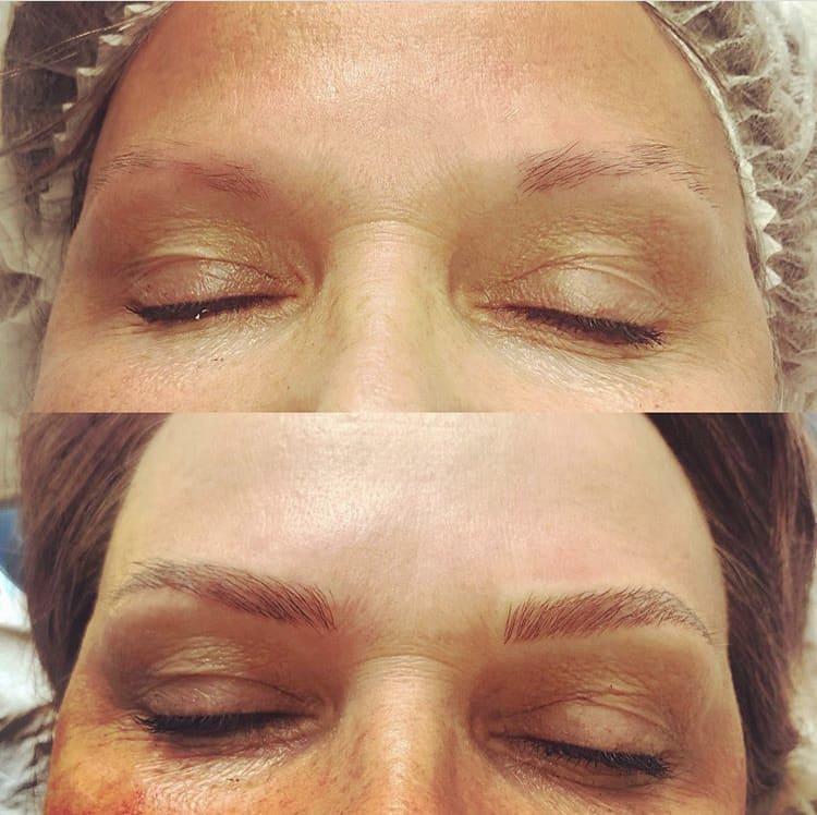 Microblading Semi-Permanent Eyebrows