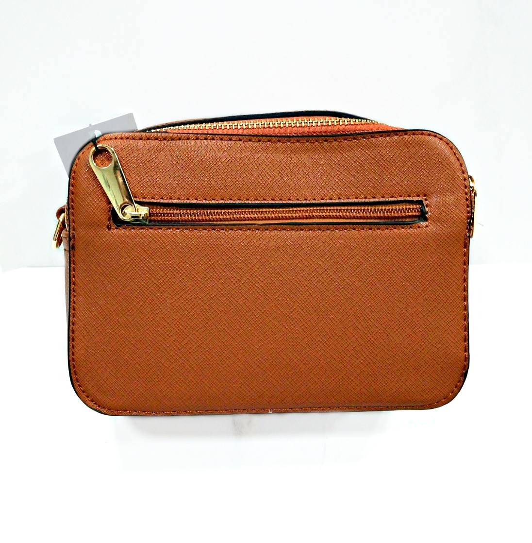 Bolso Elegance marrón.