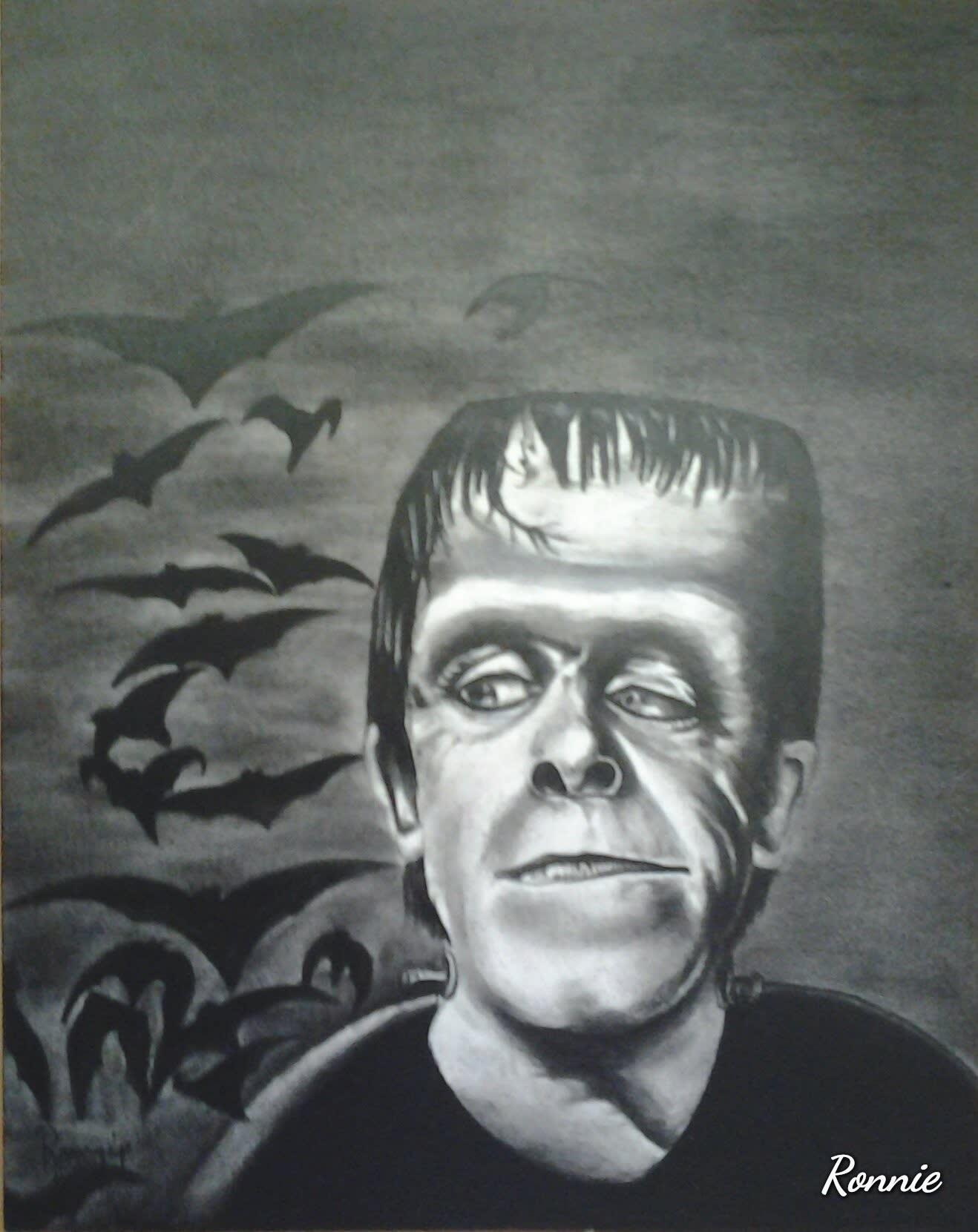 Fred gwinn/ Herman Munster 8x10