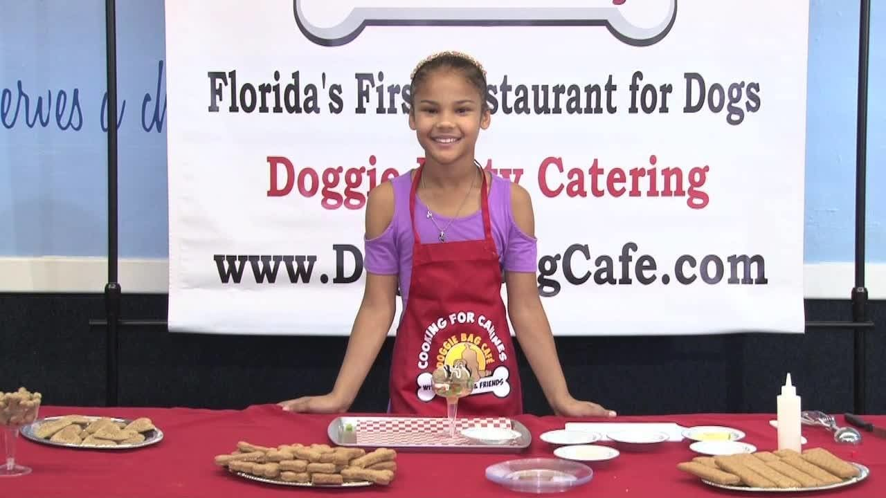 Kids Cooking for Canines Show