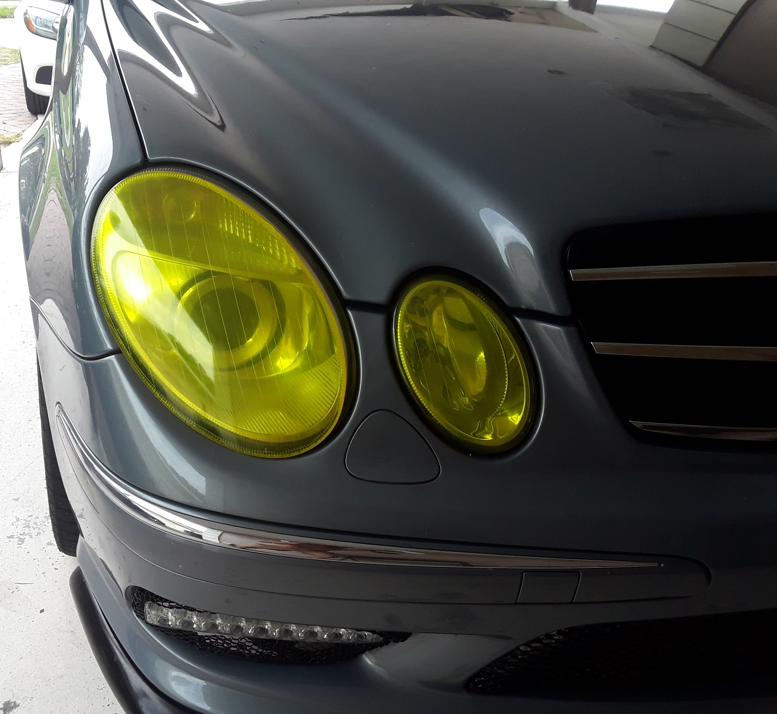 (US BUYERS ONLY) Euro Yellow Headlight Lens Covers