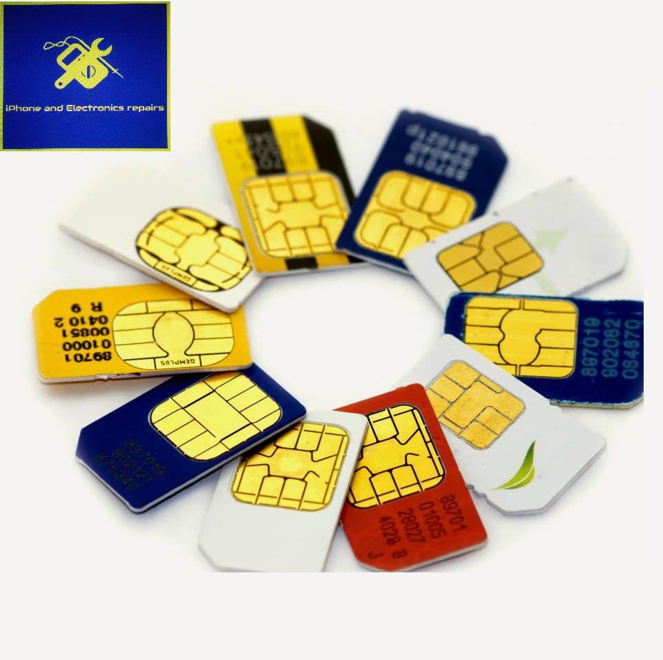 iphone  Sim card unlocking