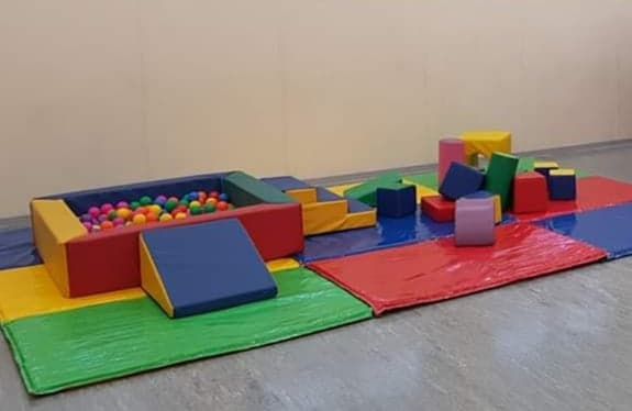 Multicolor Soft Play Shapes & Ball Pool