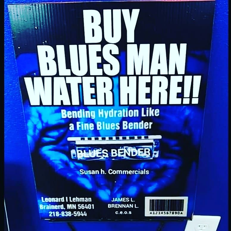 Blues Man Water