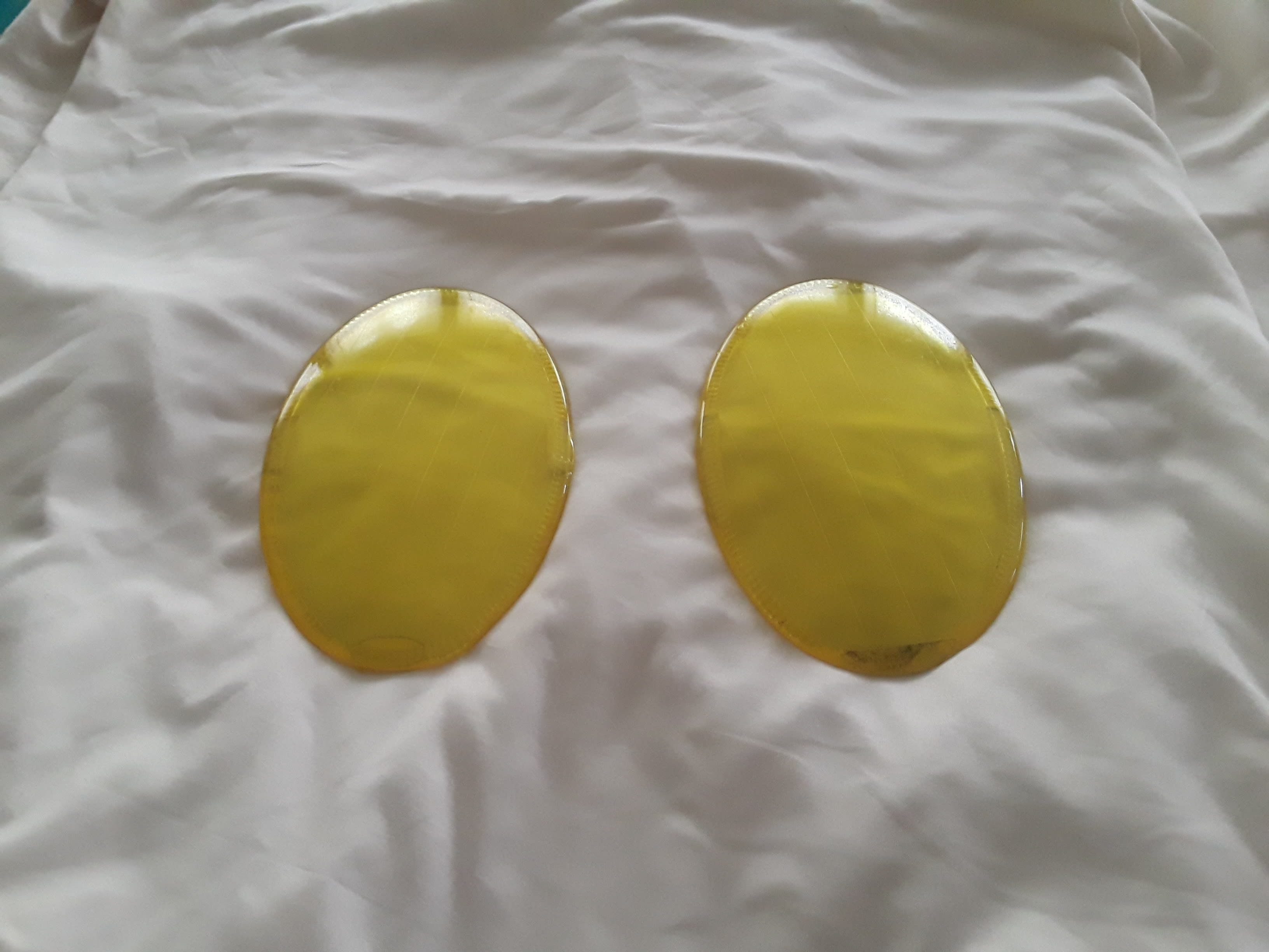 US BUYERS)  Inner Lens covers Euro Yellow
