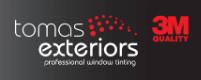 Tomas Exteriors professional window tinting
