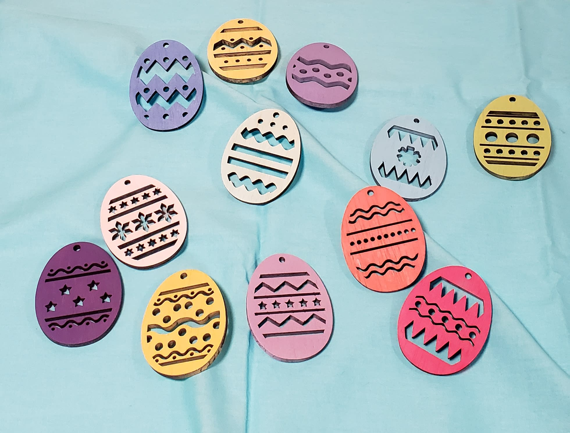 Easter Ornaments Painted