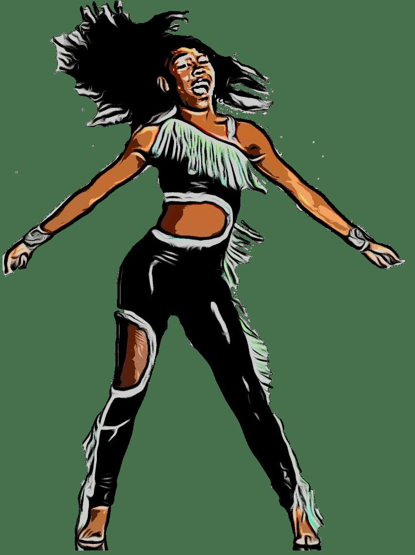 Beautiful Lioness Hip Hop Majorette Dance Team