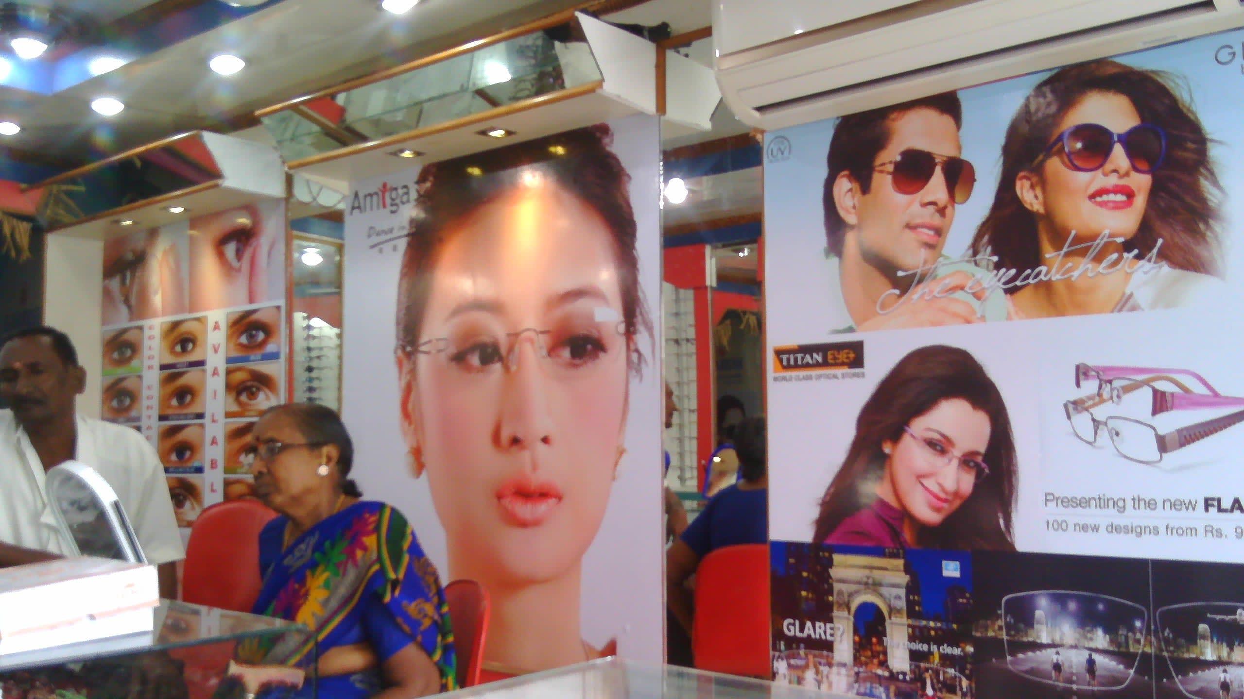 Computerised Eye Testing Services Prasanna Opticals Eyewear Store Warangal