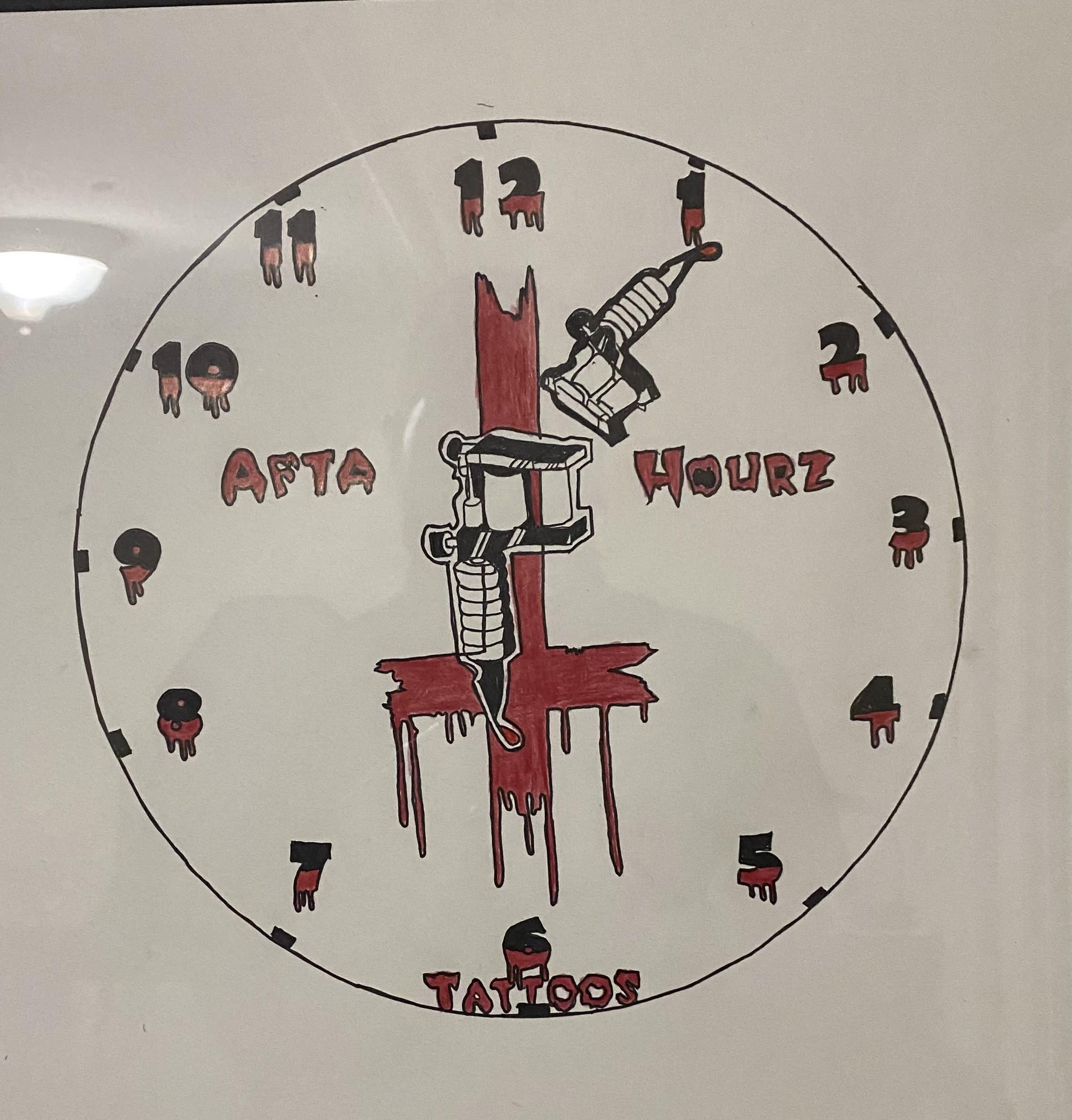 Afta Hourz Tattoos