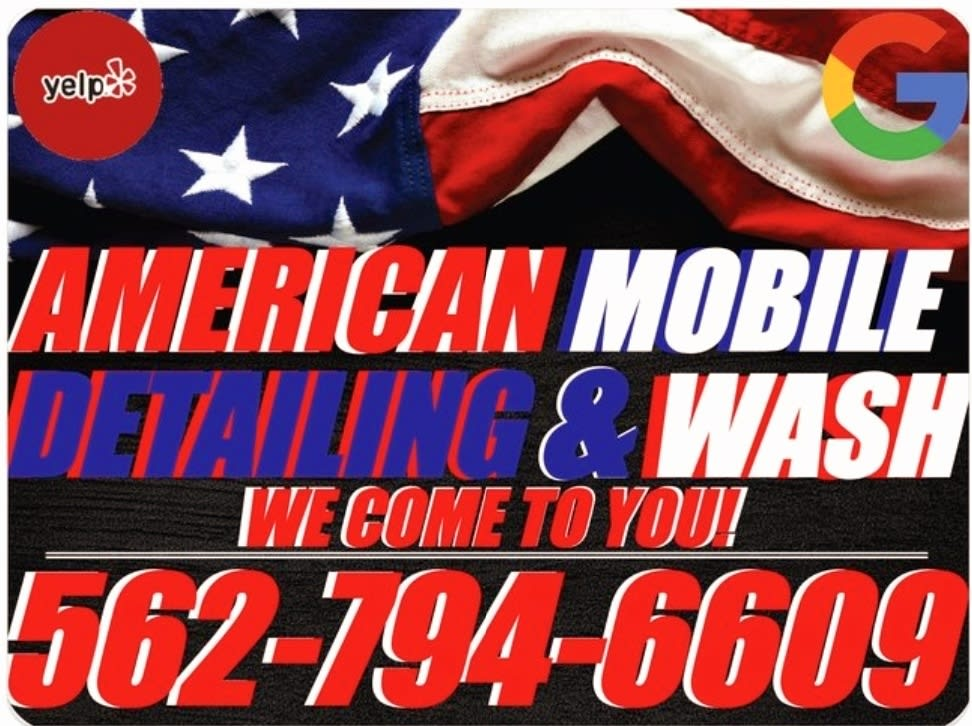 """AMERICAN MOBILE DETAILING AND WASH """"EXQUISITE TRANSFORMATIONS"""" """"WE THE BEST"""" MOBILE DETAILERS"""